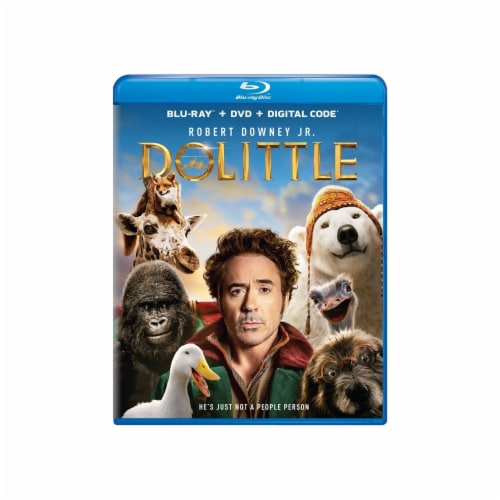 Dolittle (2020 - Blu-Ray/DVD/Digital Code) Perspective: front