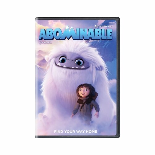 Abominable (2019 - DVD) Perspective: front
