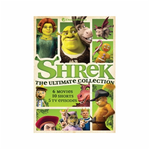 Shrek: The Ultimate Collection (DVD) Perspective: front