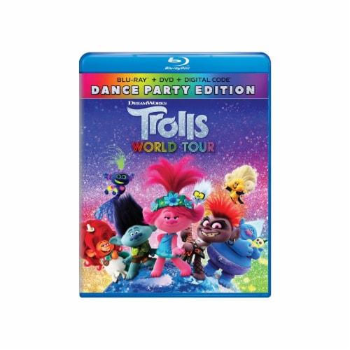 Trolls World Tour (2020 - DVD/Blu-Ray/Digital Code) Perspective: front