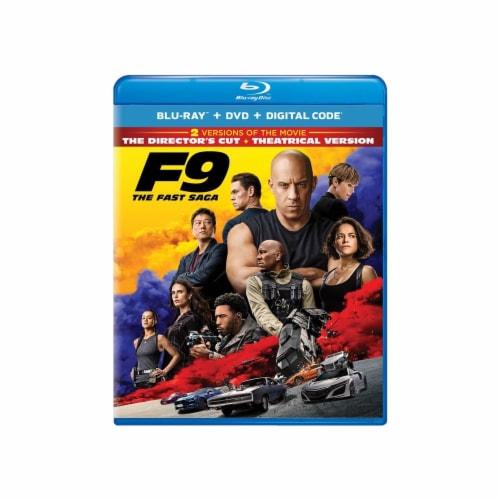 F9 - Fast Saga (Blu-Ray + DVD + Digital) Perspective: front
