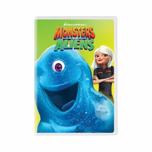 Monsters vs. Aliens (2009 - DVD) Perspective: front
