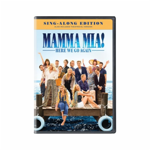 Mamma Mia: Here We Go Again (DVD) Perspective: front