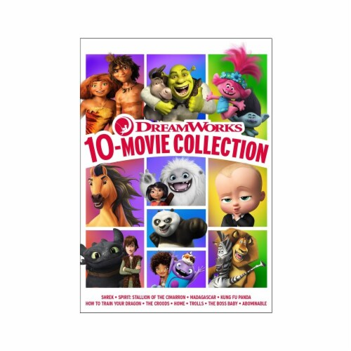 DreamWorks 10 Movie Collection (DVD) Perspective: front