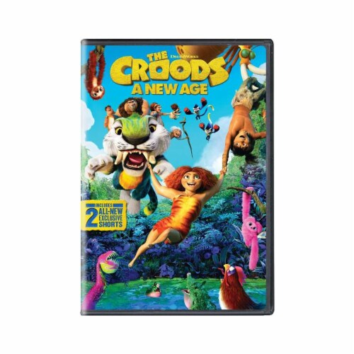 The Croods: A New Age (2020 - DVD) Perspective: front
