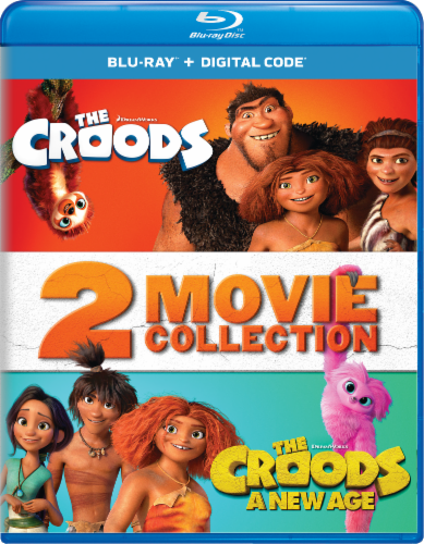 The Croods and The Croods 2: A New Age (Blu-Ray) Perspective: front