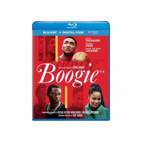 Boogie (2021 - Blu-Ray/Digital Code) Perspective: front
