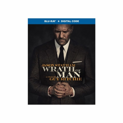 Wrath of Man (Blu-Ray/Digital Code) Perspective: front