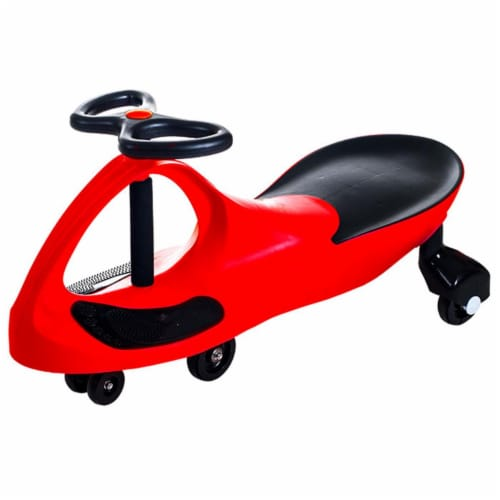 Lil Rider M370007 Ride on Toy Wiggle Car by Lil for Boys & Girls, Red Perspective: front