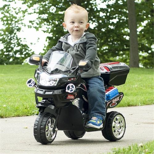 Lil Rider M370023 Lil Rider 3 Wheel Battery Powered FX Sport Bike, Black Perspective: front