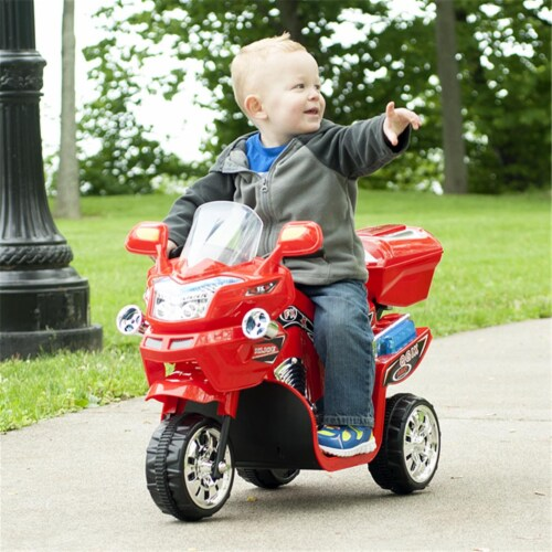 Lil Rider M370048 Lil Rider 3 Wheel Battery Powered FX Sport Bike, Red Perspective: front