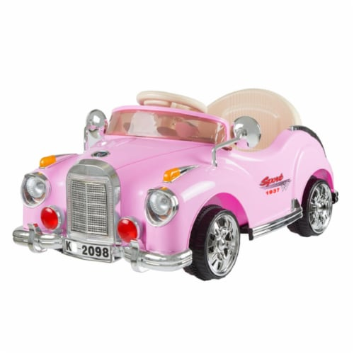 Lil Rider 80-KB2098P Ride on Toy Car, Pink Perspective: front