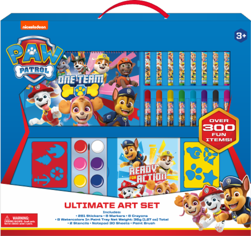 PAW Patrol Ultimate Art Set 300 Piece Perspective: front
