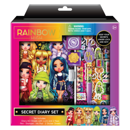 Rainbow High™ Secret Diary Kit Perspective: front