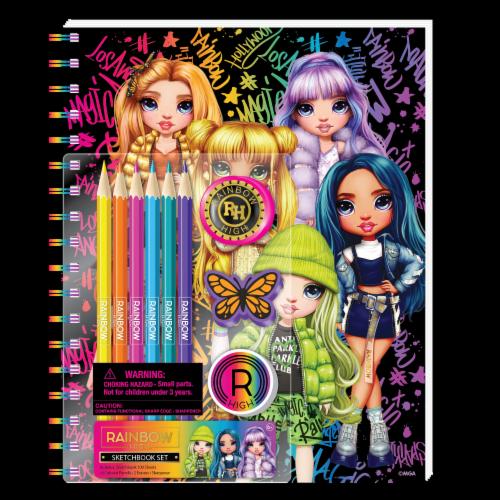 Rainbow High™ Sketchbook Set Perspective: front