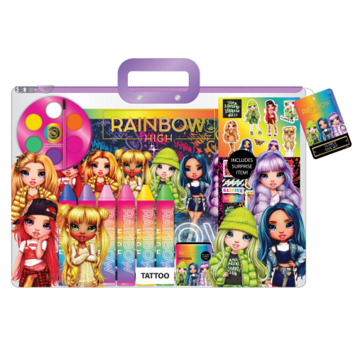 Rainbow High™ Paint Tote Set Perspective: front