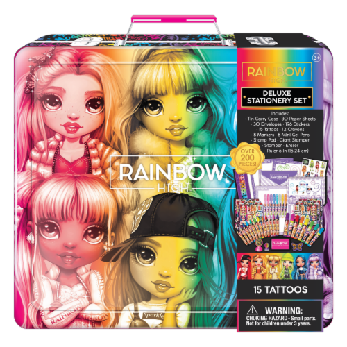 Rainbow High™ Deluxe Stationary Set Perspective: front