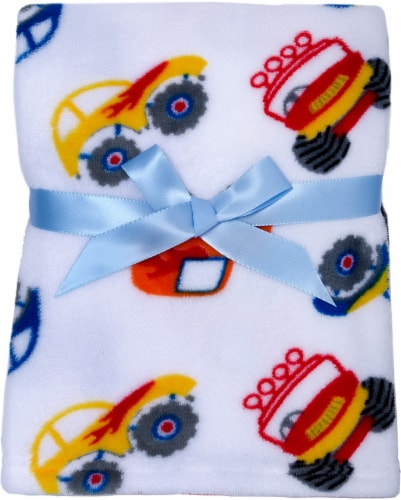 Cutie Pie® Printed Plush Blanket Perspective: front