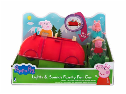 Peppa Pig Lights & Sounds Family Fun Car Perspective: front