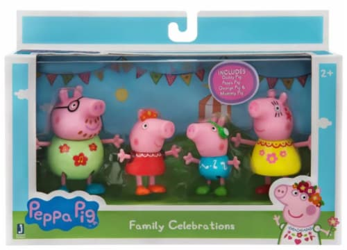 Peppa Pig Family Celebration Perspective: front