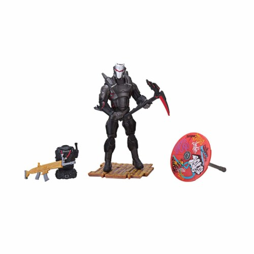 Fornite Omega Early Game Survival Kit Action Figure Perspective: front