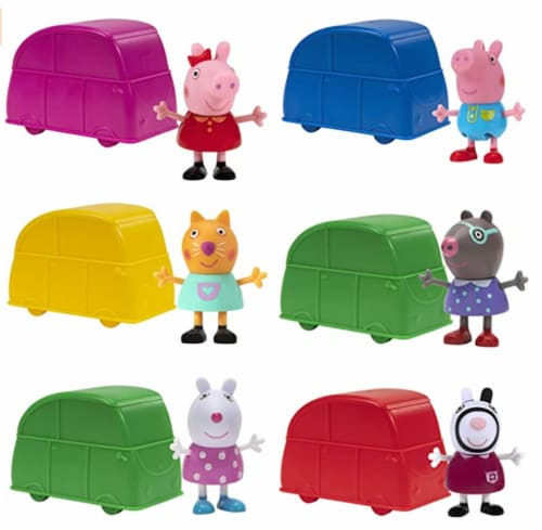 Peppa Pig Mini Cars - Assorted Perspective: front