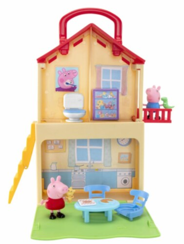 Peppa Pig Pop 'n' Play House Set Perspective: front