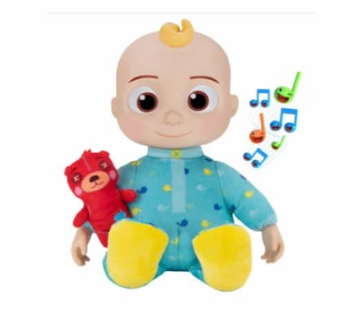 Cocomelon Roto Plush Bedtime JJ Doll Perspective: front