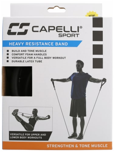 Capelli Sport Latex Heavy Resistance Band Perspective: front