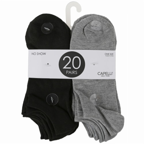 Capelli Sport Solid Ladies' No Show Socks Perspective: front