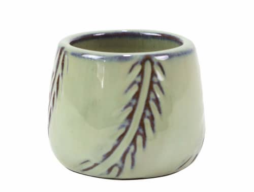 Deroma Spa Mini Pot - Green 004 Perspective: front