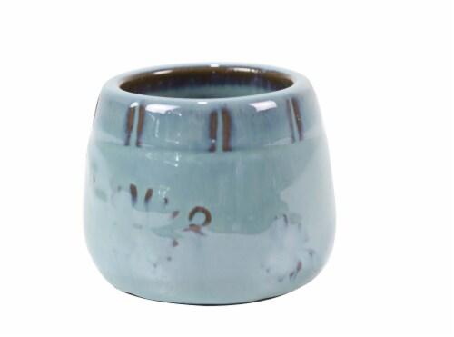 Deroma Spa Mini Pot - Green 015 Perspective: front