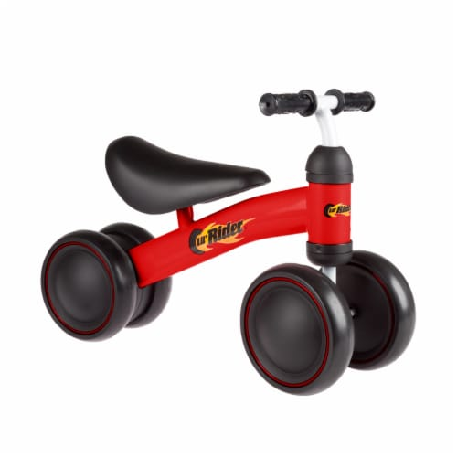 Red Baby Toddler Ride on Toy Bike Trike Walk Training for Boys or Girls No Pedals Perspective: front