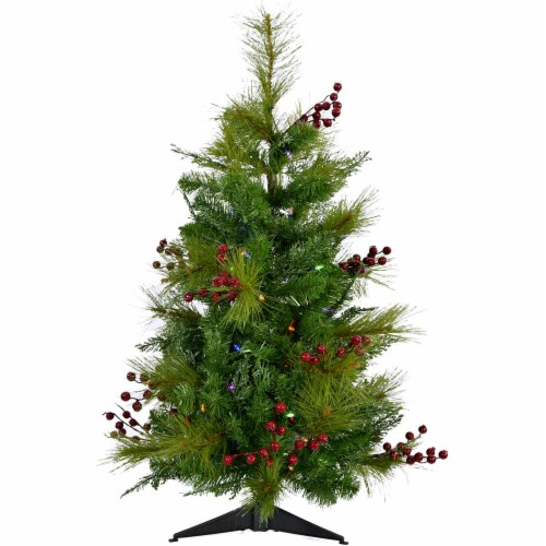 Fraser Hill Farm Newberry Pine Artificial Tree Perspective: front