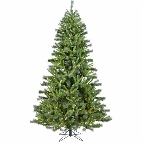 Christmas Time Norway Pine Artificial Christmas Tree Perspective: front