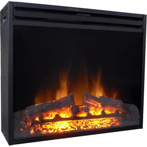 Cambridge CAM25INS-1BLK 25 in. Freestanding 5116 BTU Electric Fireplace Insert with Remote Co Perspective: front
