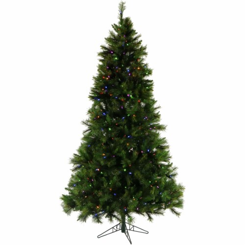 Christmas Time Pennsylvania Pine Artificial Christmas Tree Perspective: front
