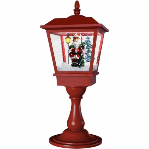 Fraser Hill Farm Musical Tabletop Lantern Perspective: front