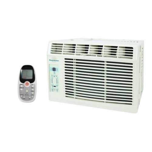 Keystone KSTAW06BE 6,000 BTU Window-Mounted Air Conditioner Perspective: front