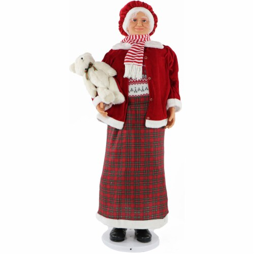 Dancing Mrs. Claus - 58 in Perspective: front