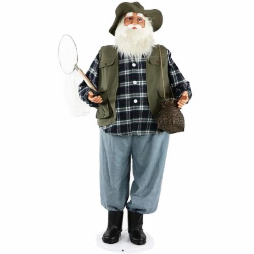 Fraser Hill Farm Dancing Fishing Santa Perspective: front