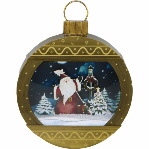 Fraser Hill Farm Christmas Ornament Shadowbox Perspective: front