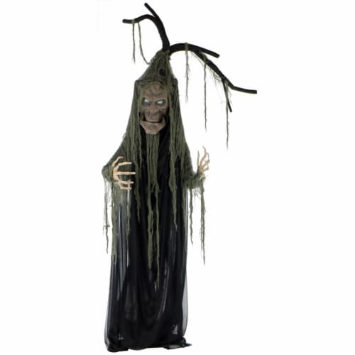 Haunted Hill Farm Haunted Talking Tree Prop Perspective: front