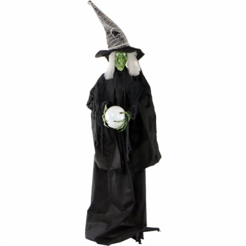 Haunted Hill Farm Wicked Witch Prop Perspective: front