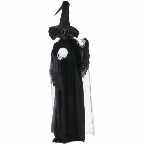 Haunted Hill Farm Phantom Witch Prop Perspective: front