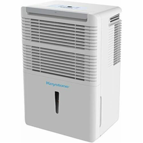 Keystone 50-Pint Dehumidifier with Electronic Controls Perspective: front