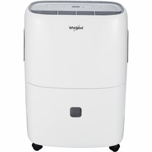 Whirlpool Dehumidifier - White Perspective: front