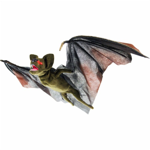 Haunted Hill Farm Animatronic Bat Halloween Decoration Perspective: front