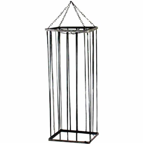 Haunted Hill Farm Life-Size Cage Halloween Decoration Perspective: front