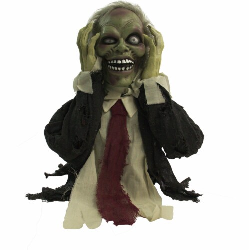 Haunted Hill Farm Animatronic Ghoul Halloween Decoration Perspective: front